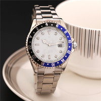 Wholesale Dimond Watches - Quartz Luxury Wristwatch Big Stainless Steel Band Dimond Watch Movement Mens Quartz Wristwatches Day Clock Relogio Feminino