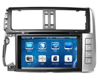 Wholesale mp3 player screen gray for sale - 8 quot Head Unit Car DVD Player for Toyota Land Cruiser Prado with GPS Navigation Radio BT USB SD AUX Audio Stereo