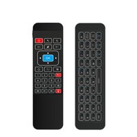 Wholesale android tv box gamepad online - Backlight G Fly Air Mouse i85 Wireless Mini Gaming Keyboard Remote Control Gamepad for Android TV Box