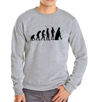 Wholesale Evolution Men - Wholesale- 2016 autumn winter starwars darth vader evolution harajuku cotton hip hop hoodies sweatshit fleece brand funny hoody cotton men