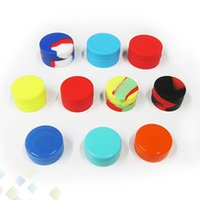 Wholesale Wholesale Containers For Water - Best Silicone Wax Box Wax Containers Jars Container for Silicone Jars Dab Wax Container for Glass Water Atomizer DHL Free