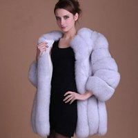 Wholesale Winter Coat Women Small - Ms. Autumn and Winter Long Sleeved Imitation Fur Coat