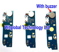 Wholesale Dc Usb Board - Wholesale- New For ARCHOS 50c Oxygen Smartphone Micro USB Charger Dock PCB Sub board Buzzer USB Charging DC Connector Parts Free Shipping