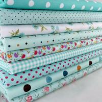 pcs algodn flower polka dots pre cortar diy handmade decor charm pao cuadrados edredn hogar patchwork tejidos de costura textiles