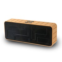 Wholesale Play Chocolate - 2017 New Release Bluetooth Wireless Speaker Chocolate Golden Magic Cuboid Subwoofers Support TF Card Ipad MP3 Mobile Phone FM Radio AUX Play