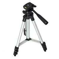 evrensel profesyonel ayak sehpası toptan satış-(Katlanmamış 1020mm) Kamera Için Taşınabilir Profesyonel Kamera Tripod Yüksek Kalite Evrensel Tripod / Cep Telefonu / Tablet