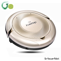 Wholesale Fine Clean - Golden vacuum cleaner 3in1 ( sweep, vacuum,mop) robot with long vacuum cleaner brush,large clean cloth S5 vacuum robot for home