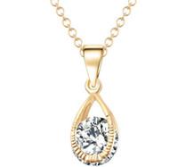 jóias suprimentos europa venda por atacado-Anjos colar de zircão Europa e nos Estados Unidos moda colar fabricantes de jóias fornecimento atacado frete grátis