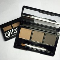 Wholesale Eyebrow Powder For Wholesale - Classic three-dimensional makeup for eyebrow shape three color eyebrow powder waterproof lock color shading gray brown