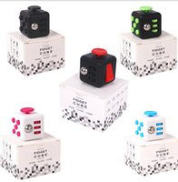 Wholesale New Fidget Cube Fidget spinner the world s first American decompression anxiety Toys By DHL