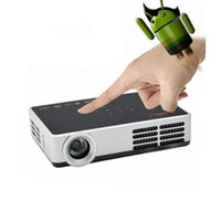 Wholesale beamer 3d shutter for sale - Group buy Built in Android HD Perfect shutter D Projector Beamer Convert D to D Pocket Mini DLP Led Projectors