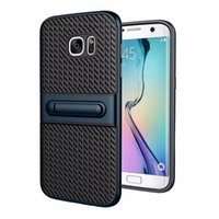Wholesale hybrid house - Shockproof Kickstand Hybrid Armor Holder Cover Case For Samsung Galaxy J3 J5 J7 2016 A7 A3 A5 2017 Case Silicon Skin Housing