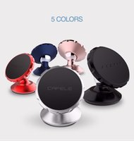 Wholesale Car Magnets Free Shipping - Free Shipping CAFELE Universal Magnetic Car Mobile Phone Holder 360 Rotating Magnet Car Air Vent Mount holder Mini Holder Stand