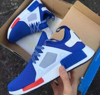 Wholesale Fashoin Shoes - NMD XR1 Blue White Captain America Sneakers Women Men Youth Running Shoes High Quality NMD XR1 Pk for fashoin shoes