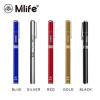 Wholesale Mini Styles Pens - Original Mlife Mini Pen Starter Kits Vape Pens Shisha ECigarette eGo Style With 320mAh Battery Vaporesso 0.8ml Capacity E-juice Tank