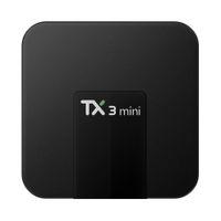 Wholesale Led Tv Tuners - TX3 mini android 7.1 tv box quad core Amlogic s905w 1GB 2GB 16GB bet s905 rk3229 nexbox streaming box IPTV Android TX3-mini with LED display