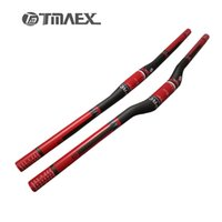 Wholesale Super Light Handlebar - TMAEX Pro- Super Light Full UD Carbon Mountain Bike Handlebar 31.8mm Cycling MTB Horizontal Handlebars Matte Bicycle Parts