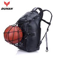 Wholesale Duhan Moto - DUHAN Black Waterproof Backpack Moto Bag Motocykle Motorcycle Helmet Backpack Luggage Motor Tank Bag Motorcycle Racing Backpack