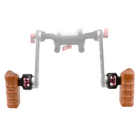 Wholesale Wooden Camera Cage - CAMVATE Pairs of Side Handgrips Wooden Handle for DLSR TILTA ARRI ALEXA Camera Cage Rig