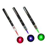 ingrosso luce verde blu rossa del laser-Puntatori laser 1pcs Grande luce potente Elegante 650nm rosso blu verde Laser Pointer Light Pen Lazer Beam 1mW ad alta potenza