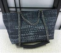 Wholesale Interior Design Simple - Free shipping fashion Simple Women Bag Ladies Big Lady Bags Design Canvas Shoulder Bags Shopping Handbag 1001A