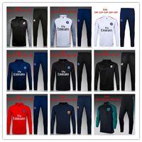 Wholesale Xs Jackets For Men - thai quality 16 17 for kids PGs jacket Training suit kits 2016 boys Paris DI MARIA CAVANI VERRATTI LUCAS MATUIDI football shirts