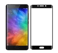 Wholesale Screen Protector Note2 - 3D Curved Full Cover Tempered Glass For Xiaomi Note 2 Screen Protector Glass For xiaomi mi note2 Toughened Protective Film