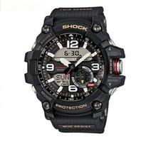 Wholesale Hk Post Free Shipping - free ship HK-POST SHOCK BOX Men GG1000 Wristwatches Digital Quartz Watch Chronograph Waterproof Relogio Masculino Fashion Sports Watch