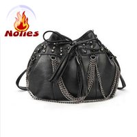 Wholesale Designer Bags Studs - Wholesale- Hot 2016 sale limited silt pocket single high quality women designer handbags and color studs bag chain women's handbags