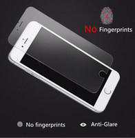 Wholesale No Fingerprints Matte Tempered Glass Screen Protector for iPhone S S C screen protector Film DHL Free Ship
