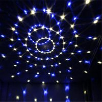 Wholesale Lighting Ball Voice Control - Voice Control LED Crystal Magic Ball Light 6 Color Change Laser Effects Stage Lighting Disco Lights For DJ Bar Party Supplies