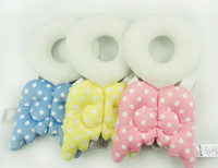 Wholesale Baby Head Cushion - Wholesale- Baby Head Protection Pad Toddler Headrest Pillow Baby Neck Cute Wings Nursing Drop Resistance Cushion Guards