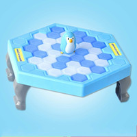 Wholesale interactive tables - Puzzle Toys Table Game Knock Ice Cubes Save Penguin Family Interactive Toy Smooth Surface Delicate Bright Colors 6 75swv I1