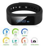 fitness tracker I5 Plus Smart Bracelet Bluetooth 4.0 impermeável Touch Screen Fitness Tracker Health Wristband Sleep Monitor Smart Watch