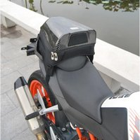 Wholesale New arrival UGLYBROS Motorcycle Tail Bag Motorcycle Rear Seat Package Black Carbon Fiber Bag Tail Bag Colors Available