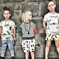Wholesale Wholesale Fleece Jumpers Boy - Boys Fashion 2017 Striped T-shirts Baby Cotton Casual Fleece Kids Boys Autumn Jumper Tops boy clothes
