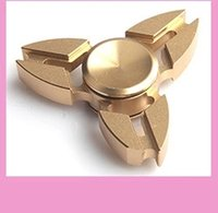 Wholesale hot selling Hand Spinner New metal clover fingertips gyro decompression spiral toys fingertips gyro spot