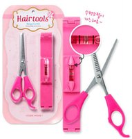 Wholesale Level Scissors - Fringe Trimmer Fringe Sets Hair Scissors DIY Beauty Tool with Level Ruler