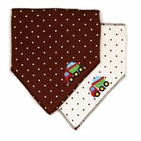 Wholesale Offer Scarf - Wholesale- 2017 Special Offer Direct Selling Unisex free Solid Baby Bibs Vestido Scarf 100% Newborn Baby Cotton Bib Leak-proof Cute 2-pack
