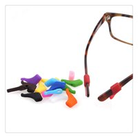 Wholesale Eyeglasses Temples - Eyeglass Hold Eyewear Ear Hook Glasses Silicone Temple Tip Holder Eyeglass Eyewear Glasses Anti Slip Silicone Ear Glasses Hold Free Shipping