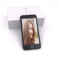 celular ram 512mb venda por atacado-100% Novo Smartphone I7 MTK6572 Dual Core 5.0 Polegadas 512 MB RAM 512 MB ROM Celular Dual Camera Touch Screen telefone Selado Caixa 2017 Nova chegada