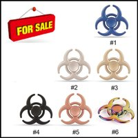 Wholesale Evil Toys - New Style Hand Spinner Zinc Alloy Fidget Spinner Resident Evil EDC Fucus Toy Help Decompressure Stress Hot Selling