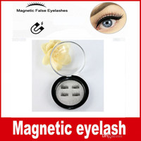 Wholesale Soft Fake Eyelashes Individual - Factory price 3D Magnetic False Eyelashes Extension Magnetic Eyelashes Makeup Soft Hair Magnetic Fake Eyelashes with retail packaging
