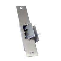дверные замки оптовых-Failsafe электрическая забастовка соответствующий для стеклянной двери без запертой рамки Подпитыванный узкий тип сдерживающая сила замка 500KG двери