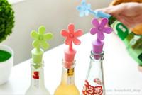 botella de vino de corcho al por mayor-Tapones de silicona Tapón de botellas de silicona para vino Cerveza Jarro de vidrio Botella de eco Corcho para cocina Bar