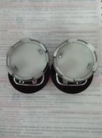 Wholesale 16 Black Rims - For Honda set 4 center cap emblems hub caps cover black chrome rims Accord Civic Free shipping