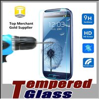 Wholesale Explosion Screen - Tempered Glass Screen Protector Film Guard 9H Hardness Explosion Shatter Film Protector For iPhone 7 plus 6S SE Samsung S8 S7 edge Note 5