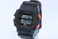 Wholesale Resist Watch - 1pcs top relogio Gx56 men's sports watches, LED chronograph wristwatch GX-56-4DR digital watches, waterproof jelly resist wristwatch