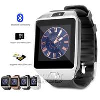 çocuklar için cep telefonları toptan satış-DZ09 Akıllı İzle Dz09 Saatler Bileklik Android İzle Akıllı SIM Akıllı Cep Telefonu Uyku Devlet Akıllı İzle Perakende Paketi