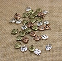 """Wholesale Dog Color Slide Charm - Hot Sale (Min order 100 pieces) 10*13mm Three color Alloy Hearts Lettering """"My Dog"""" Jewelry Pendants Charms"""